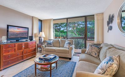 Photo for Beautiful, Relaxing & Clean Private Condo just steps away to the beach!