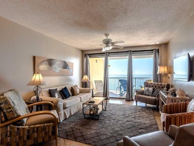 Photo for Fall Break-2 nights free!*  3 Bed/2 Bath, Gulf Front, Indoor Heated Pool