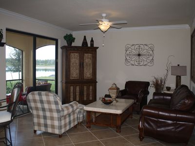 Photo for TREVISO BAY, GOLF INCLUDED, FIRST FLOOR, DIRECTLY ACROSS FROM POOL AND BBQ