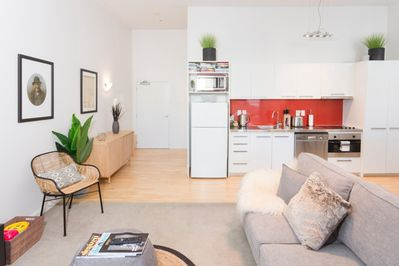 Open plan living with plenty of space for everyone