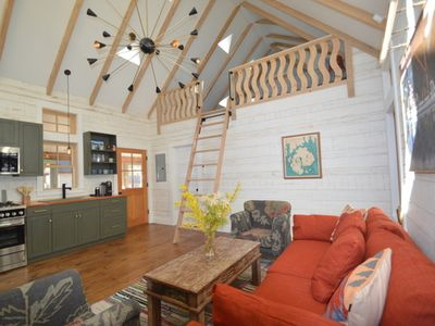 Photo for Brand New Cottage, Custom Built By Well Known Local Builder/Designer