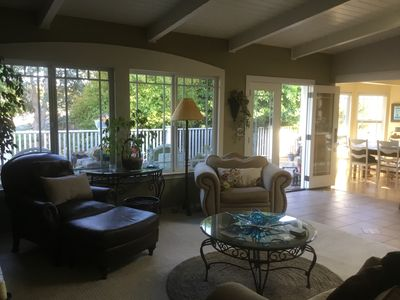 Photo for Private family Central coast comfort. Entire home, lg back yard, hot tub, BBQ