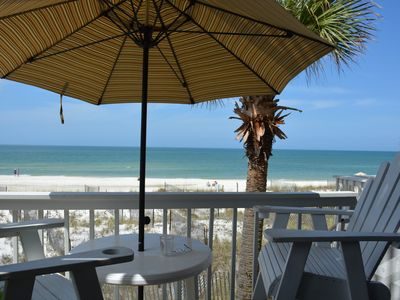 Photo for Loaded, Direct Beachfront Unit * 2x Pools/Tennis * Comes W/Beach Chairs!!!