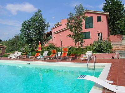 Photo for Fonte Nuova Apartment, Sleeps 4 with Pool and WiFi