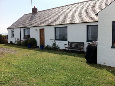 Photo for Cottage With Secure Garden, Wood Burning Stove And Sea Views