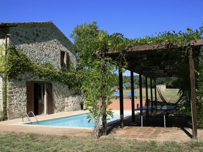 Photo for Secluded, Restored Mill With Private Pool In Umbrian Countryside