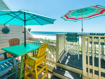 Photo for ☀2BR The Shores Townhome 116☀Nov 1 to 4 $709 Total! Beach Front-2 Balconies!