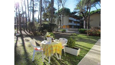 Photo for Beautiful one bedroom apartment 300 meters from the beach