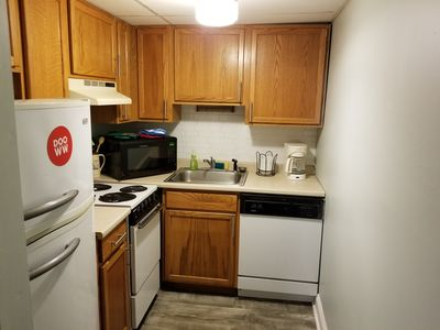 Photo for Close to beach and boards! Adorable 2 bed, 2 bath condo.