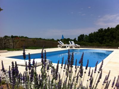Photo for Beautiful family home with pool between Eymet and Bergerac near Bridoire