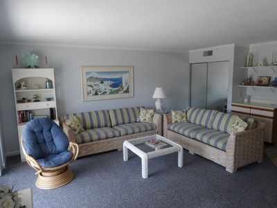 Photo for Ocean block, steps to beach, 2BR 2B Midtown