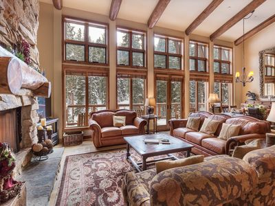 Photo for Penthouse, High-end 5-bedroom, 2 Balconies, Ski-in/Ski-out