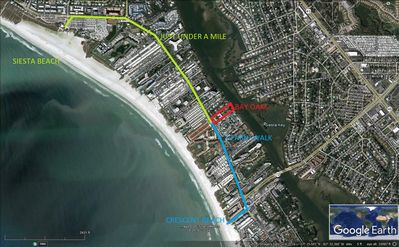 Photo for Beautiful one bedroom condo on Siesta Key.  minutes from Siesta key Beach!