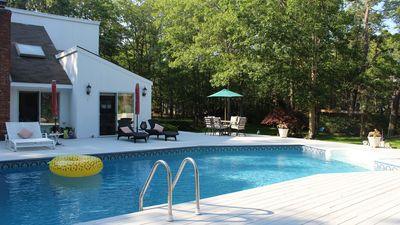 Photo for New Listing: Immaculate Family-Friendly Home, Tennis & Boce Court, Playground & Pool bar