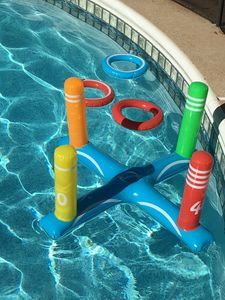 Private heated pool with many fun pool games and floats provided.