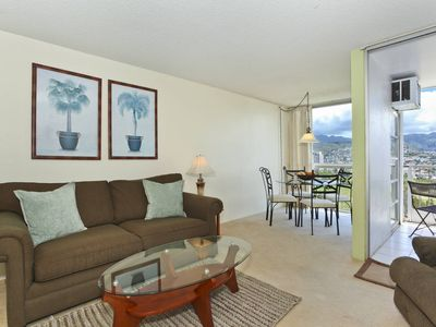 Photo for Mountain and Golf Course Views! Washer & dryer, A/C, FREE WiFi  and parking!