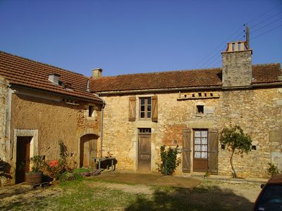 Photo for house in the countryside between Cahors in the Lot and Sarlat in the Dordogne