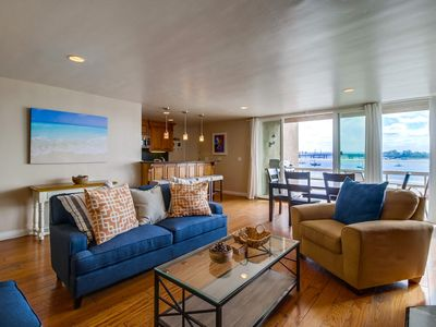 Waterfront S. Mission Condo! Enjoy the Morning Sunrise, Parking, & BBQ!