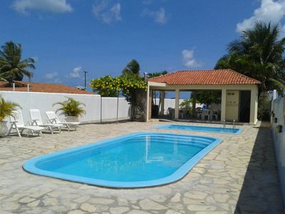 Photo for Family house, swimming pools, wheelchair accessible, 80 meters from the sea, Lucena / Camacari