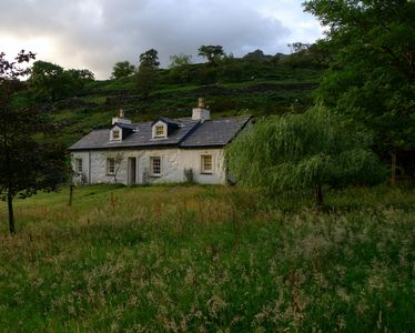 Photo for Superbly Renovated Historic 3 Bedroom Cottage In Llanberis Pass - Views Snowdon
