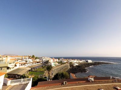 Photo for Spectacular Sea View Apartment, 20m from natural swimming pool