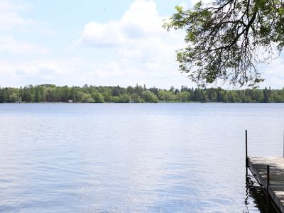 Photo for Wonderful lake home on Pike Lake, only 20 minutes to downtown Duluth/Park Point