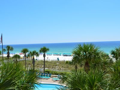 Photo for Updated Beachfront Condo🌴🌴Destin Towers🌞🌞Curved Tv⛵Gulf View⛱️⛱️