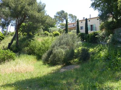 Photo for Large property - near sea - very quiet - private pool - very large garden