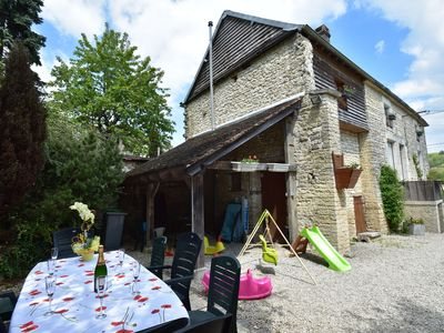 Photo for Extremely high standard gîte in lovely wine producing village.