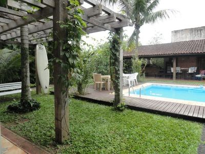 Photo for Beach house large and airy with pool - 07 suites and 150 meters from the beach