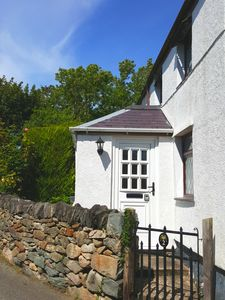 Entrance To Green Cottage