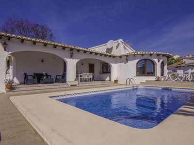 Photo for ERITA, nice villa in Benissa for 6 pax with private pool. Free WIFI