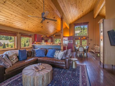 Photo for Tahoe Donner Home with a spectacular view!