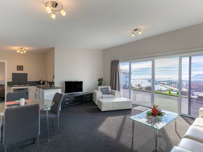 Photo for The Captain's Quarters in Nelson - stunning seaviews