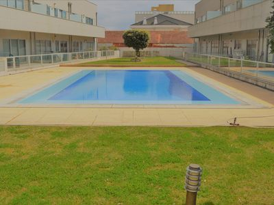 Photo for SEA FRONT APARTMENT, TWO BEDROOMS AND BATHROOMS, SWIMMING POOL AND SANDY BEACH