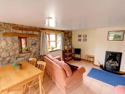 Photo for Atmospheric holiday home near the Black Mountain, with wooden beams and fireplace