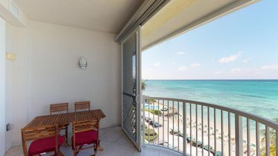Photo for Beautifully Decorated 2 bedroom 2 bath unit on world famous 7 mile beach