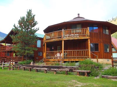 Photo for Round Eagle - Unique Home on the River, Near Lift House, Wrap-around Deck, Washer/Dryer