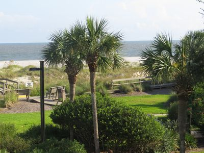 Charming Wild Dunes condo with fabulous ocean views - with sportscard