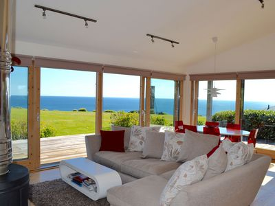 Photo for Luxury home with amazing sea views, shared swimming pool, gym, & sauna