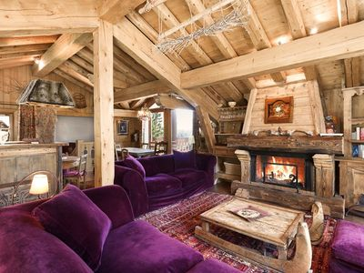 Photo for 180sqm beautiful chalet - 10 persons in Courchevel 1850