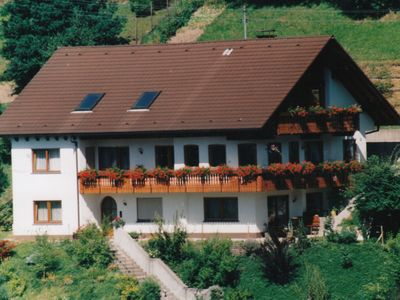 Photo for Beautiful flat with stove and a small garden with terrace in Schapbach in the Black Forest