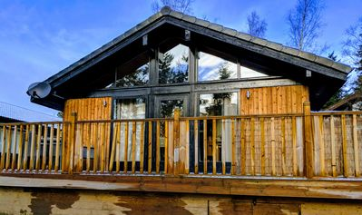 Photo for Boutique, 3 bedroom lodge in the heart of Northumberland with private hot tub