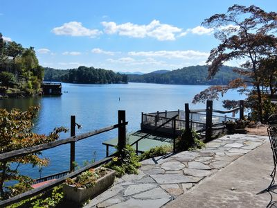 Photo for Romantic Lakefront Home! Casa Carroll - Carolina Properties