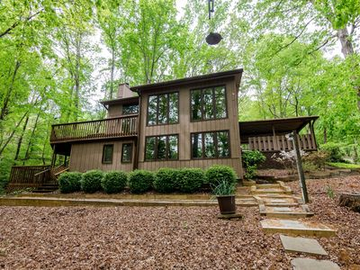 Photo for Retro Lake Living-3 Bedrooms, 3 baths. Fantastic Lot, Boat Dock !