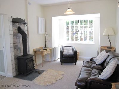 Coachman's Cottage Sitting Room with wood-burner