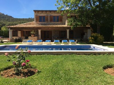 Cozy cottage with garden and pool close to the sea - Pollença