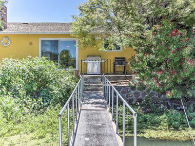 Photo for Waterfront House in Clearlake Oaks w/ Boat Dock!