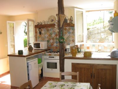 Photo for Pretty small house in hinterland of Nice, surrounded by nature