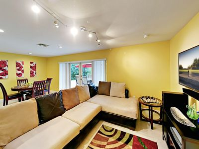 Photo for Sweet 2BR w/ Tropically Landscaped Backyard -- Minutes to Beach & Downtown